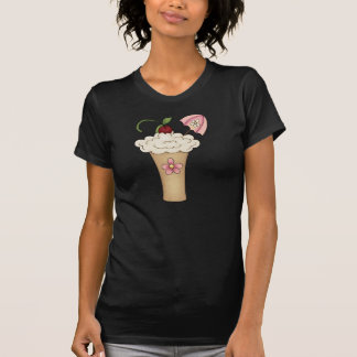 Milkshake With An Umbrella Womens T-Shirt