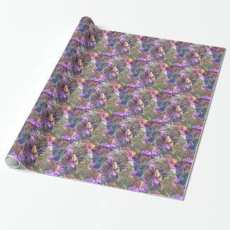Milkweed beetles en masse exploration wrapping paper