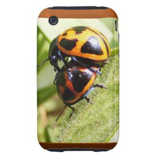 Milkweed Beetles ~ iPhone 3G/3GS CaseMate Tough Tough iPhone 3 Case