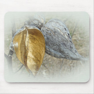 Milkweed Pods Mouse Pad