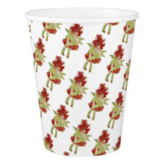 Milkweed Vintage Cute Flower Child Little Girl Kid Paper Cup