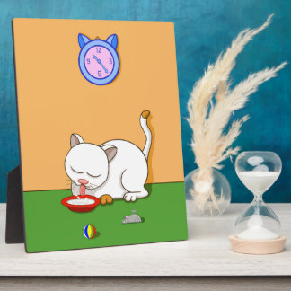Milky Cat Plaque