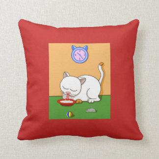 Milky Cat Reversible Cushion