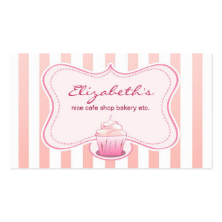 milky cupcake business card