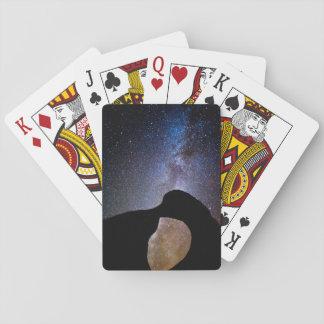 Milky way at night, California Playing Cards