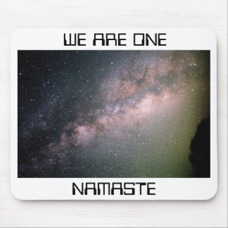 milky-way-galaxy-20081029-915, WE ARE ONE, NAMASTE Mouse Pad