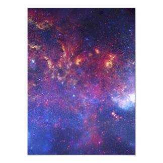 Milky Way Galaxy - Our Beautiful Neighborhood 5.5x7.5 Paper Invitation Card