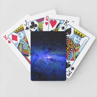 Milky Way Galaxy Space Photo Bicycle Playing Cards