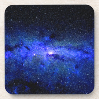 Milky Way Galaxy Space Photo Coaster