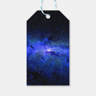 Milky Way Galaxy Space Photo Gift Tags