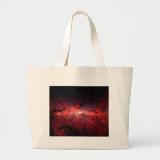 Milky Way Galaxy Space Photo Large Tote Bag