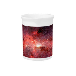 Milky Way Galaxy Space Photo Pitcher