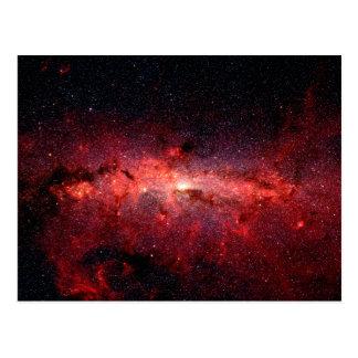 Milky Way Galaxy Space Photo Postcard