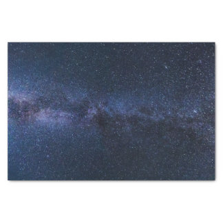 milky way galaxy tissue paper
