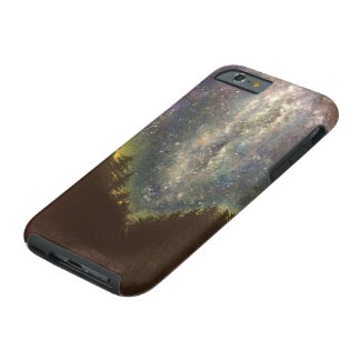 Milky-way galaxy tough iPhone 6 case