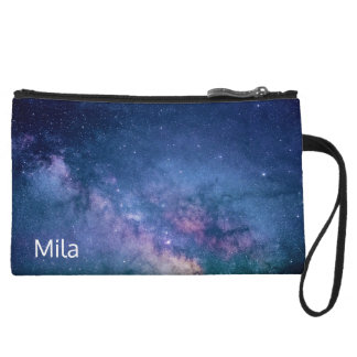 Milky Way Galaxy Wristlet