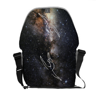 Milky Way Image Dance Bag Courier Bag