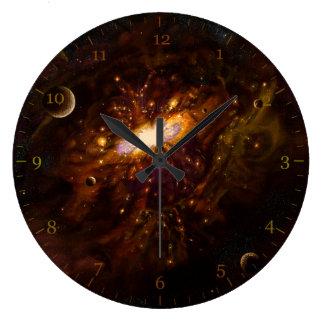 Milky Way Large Clock