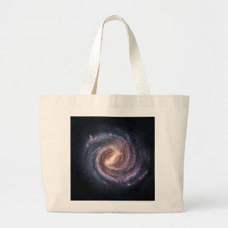 milky-way large tote bag