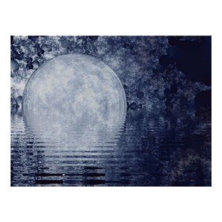 Milky Way Moonrise Print