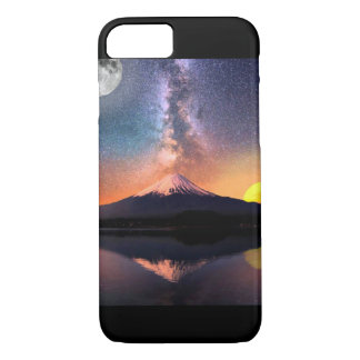 Milky Way & Mountain Landscape iPhone 7 Case