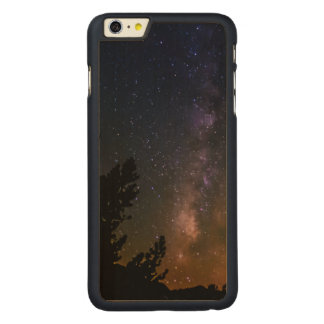 Milky Way night sky, California Carved Maple iPhone 6 Plus Case