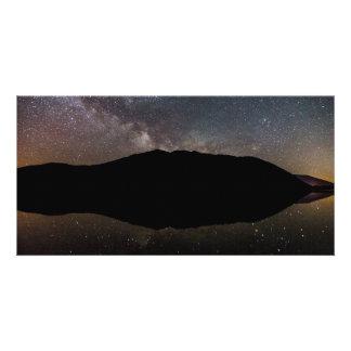 Milky Way over Lake McDonald, Glacier NP Photo Card