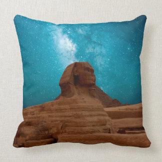 Milky Way Over Sphinx Pillow