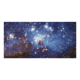 Milky Way Star Formation Stellar Nursery LH 95 Custom Photo Card