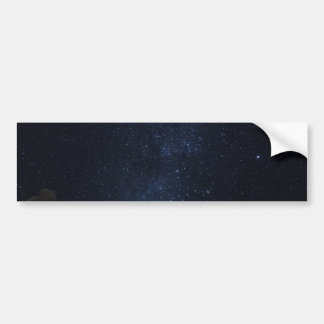 Milky Way Stars Bumper Sticker