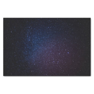Milky Way stars night sky Tissue Paper