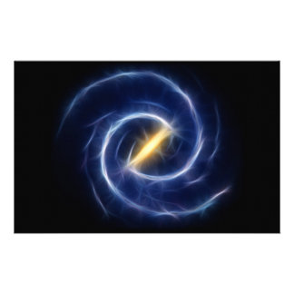 Milky Way Stars Spiral Galaxy Personalized Stationery