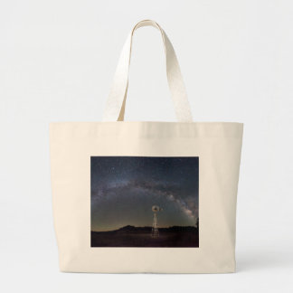 Milky Way Windmill Large Tote Bag