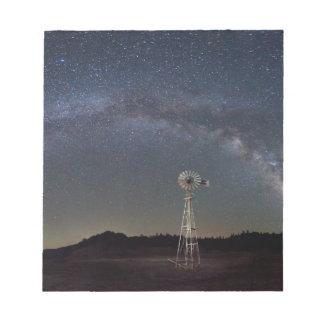 Milky Way Windmill Notepad