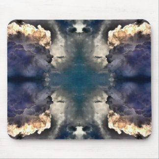 MilkyWay Art Angry Clouds Mouse Pad