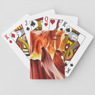 MilkyWay Art Arizona Antelope Canyon Playing Cards
