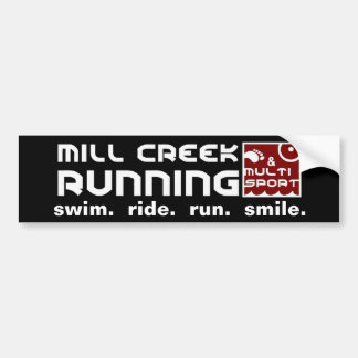 Mill Creek Club Standard Bumper Sticker