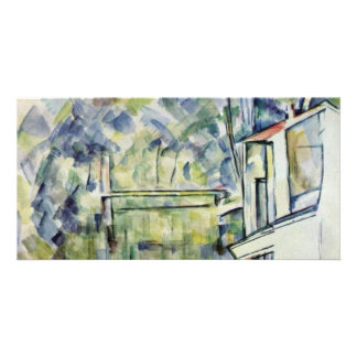 Mill On The River By Paul Cézanne (Best Quality) Photo Card