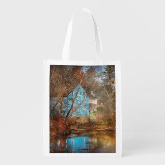 Mill - Walnford, NJ - Walnford Mill Reusable Grocery Bag