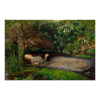 Millais Ophelia CC0497 Perfect Poster