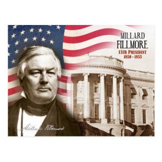 Millard Fillmore -  13th President of the U.S. Postcard