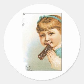 Millards Chocolate Sticker