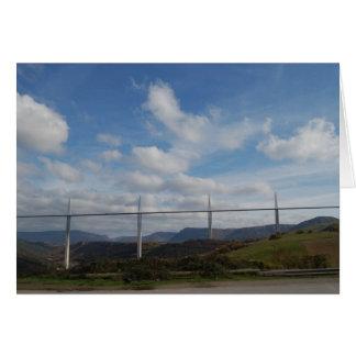 Millau Viaduct, France Card