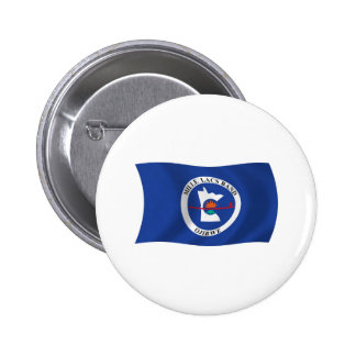 Mille Lacs Band Reservation Flag Button