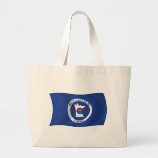 Mille Lacs Band Reservation Flag Tote Bag