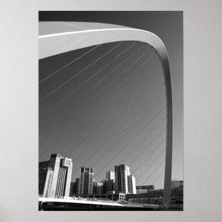 Millenium Bridge Print