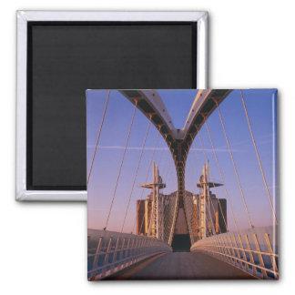 Millennium Bridge, Lowry Centre, Salford Square Magnet