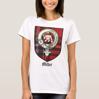 Miller Clan Crest Badge Tartan T-Shirt