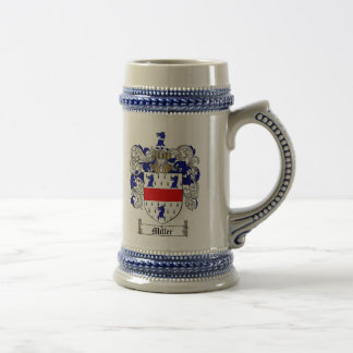 Miller Coat of Arms Stein (English)