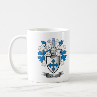 Miller Family Crest Coat of Arms Coffee Mug